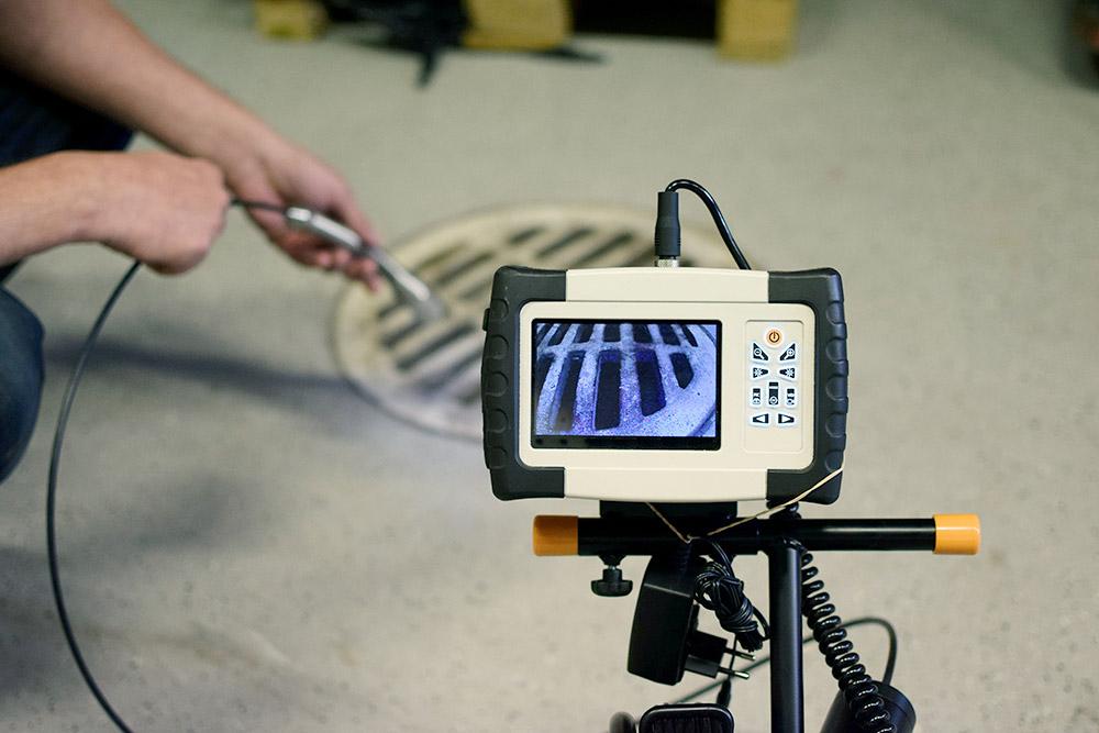 Inspection par caméra efficace par Plombier Châteauguay